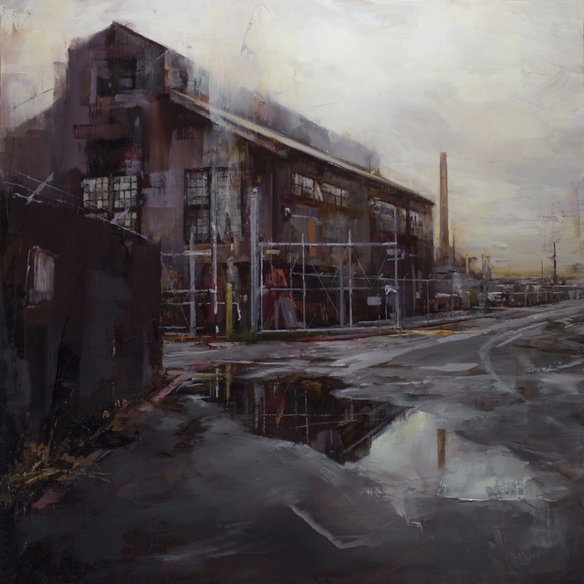 , 'The Quiet of Old Industry,' 2018, Abend Gallery