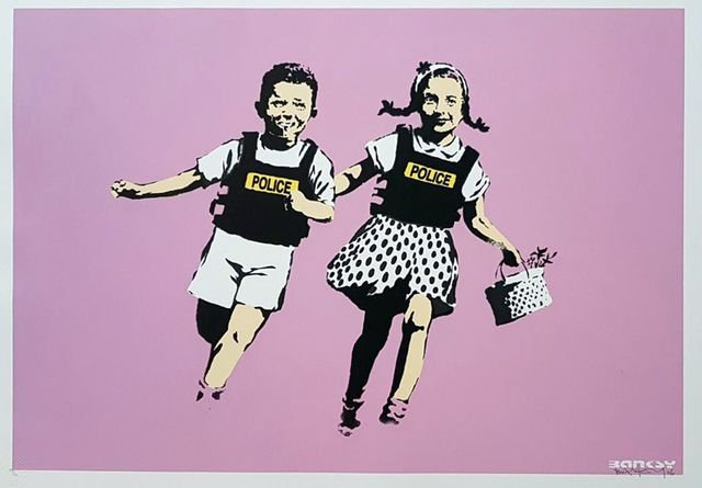 , 'Jack and Jill Pink AP,' 2005, Gormleys Fine Art