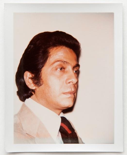 Andy Warhol, 'Andy Warhol, Polaroid Photograph of Valentino (Garavani), 1973', 1973, Hedges Projects