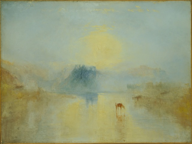 , 'Norham Castle, Sunrise,' 1845, de Young Museum