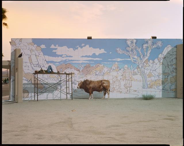 , 'Bull Mural, Twentynine Palms, California, 2001,' 2001, Fraenkel Gallery