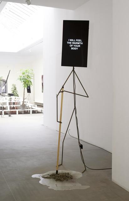 , 'Insecure Metal Man,' 2015, Galerie Nathalie Obadia