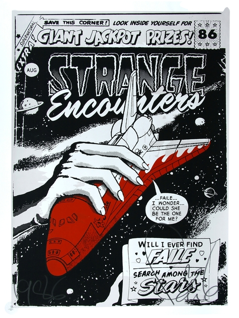 FAILE, 'Strange Encounters', 2007, Addicted Art Gallery