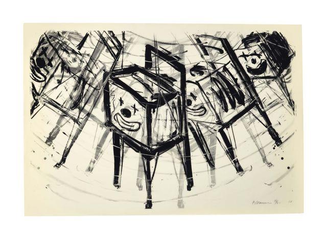 Bruce Nauman, 'TV Clown', 1988, Gallery Sofie Van de Velde