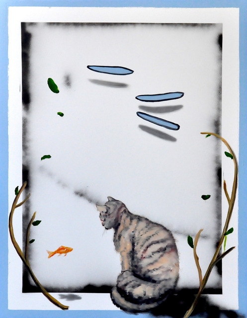 , 'The Cat,' 2017, Mazel Galerie