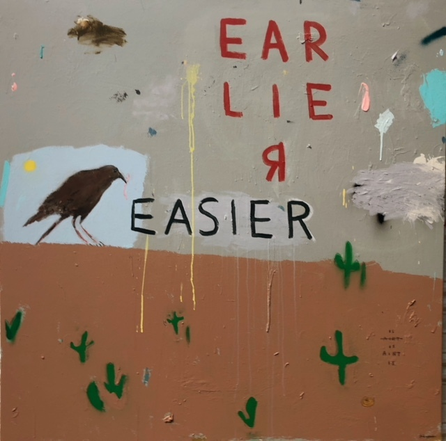 , 'Worm Hunter,' 2018, Bruce Lurie Gallery