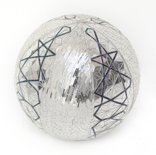 , 'Mirror Ball,' 2012, Haines Gallery