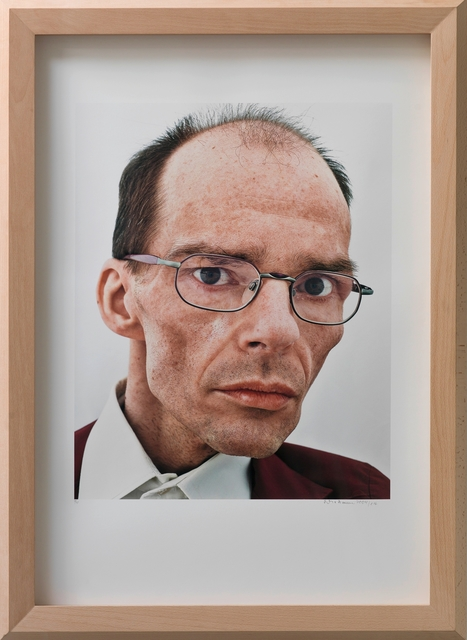 , 'Portrait III, Berhard 2004,' 2004, Galerie Kornfeld