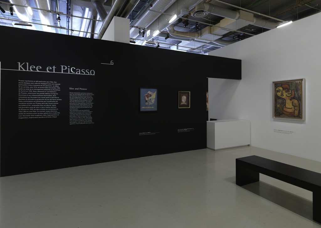 "Installation view of ""Paul Klee: L'ironie à l'oeuvre"" at Centre Pompidou, Paris (2016) © Herve Veronese or © Philippe Migeat"