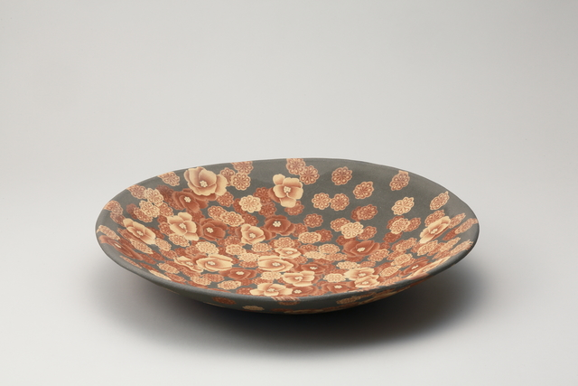 , 'Mumyoi Neriage Plate with Flower Patterns,' 2016, Onishi Gallery