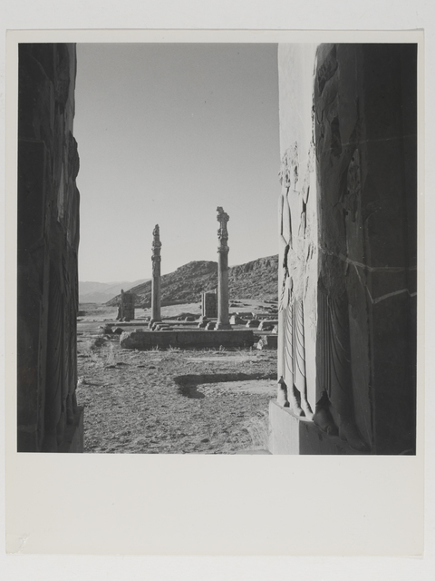 , 'View of ruins at the palace of Persepolis, Persia,' 1949, Victoria and Albert Museum (V&A)