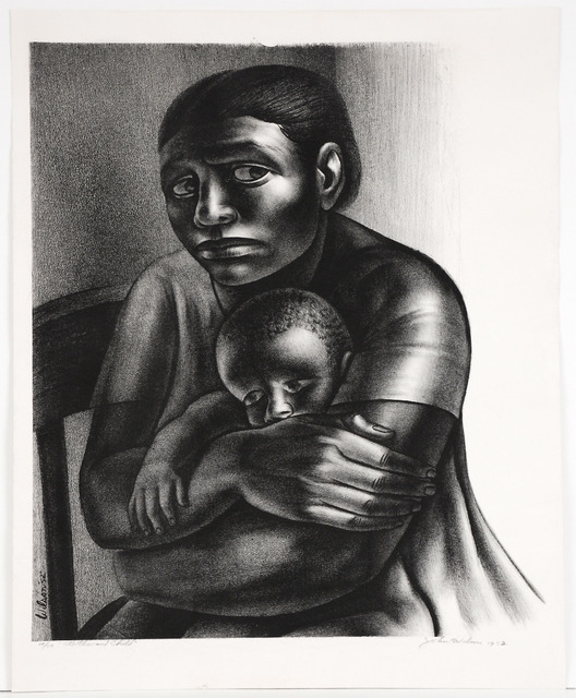 John Woodrow Wilson, 'Mother and Child', 1952, Sragow Gallery