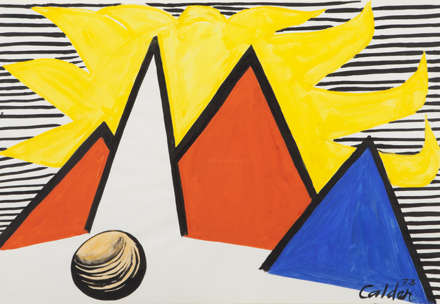 , 'Great Yellow Sun,' 1973, Omer Tiroche Gallery