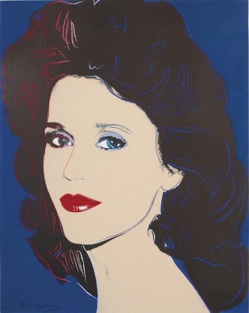 Andy Warhol, 'Jane Fonda II.268 double signed', 1982, OSME Fine Art