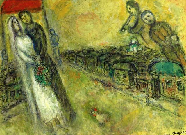 , 'Les Mariés sous le baldaquin,' ca. 1978, Opera Gallery