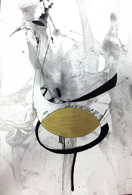 , 'Untitled Sketch),' 2018, TAFETA