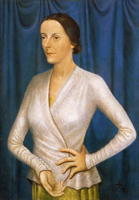 , 'Portrait of the Singer Elisabeth Stüntzner,' 1932, Galerie St. Etienne