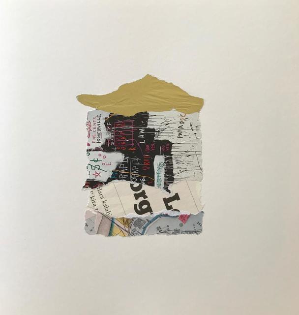 , 'Basquiat's Home,' 2018, Anna Laudel