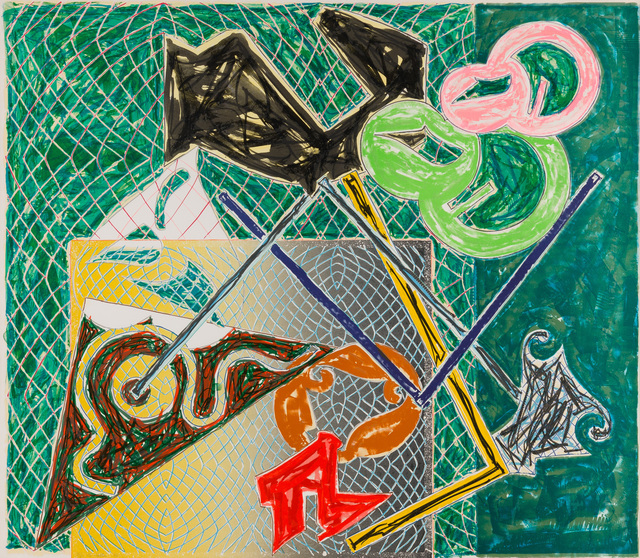 Frank Stella, 'Shards V', 1982, Christopher-Clark Fine Art