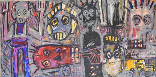 , 'Tribal Megalopolis,' 2012, Ethan Cohen New York