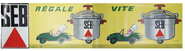 , 'SEB. REGALE VITE,' 1966, Galleria Alfieri