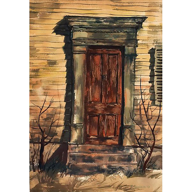 , 'Old Door,' 1953, Alpha 137 Gallery