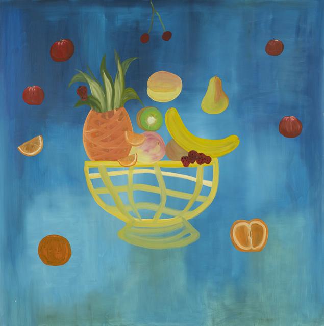 Paola Vega, 'Los planetas frutales', 2020, Painting, Oil on canvas, Calvaresi
