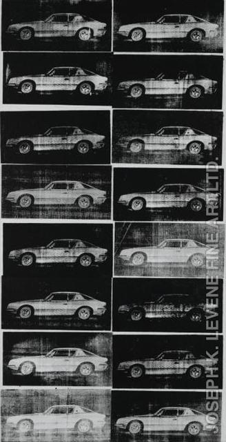 Andy Warhol, 'Avanti Cars', 1962, Joseph K. Levene Fine Art, Ltd.