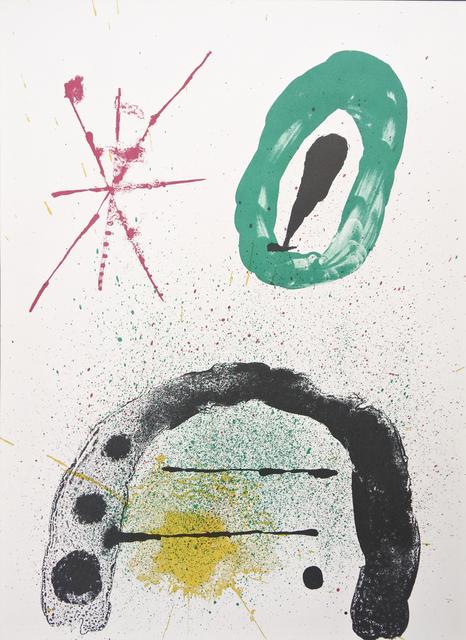 Joan Miró, 'La Fille du Jardinier No.2', 1963, Hans den Hollander Prints
