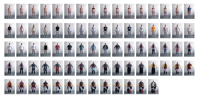 , 'Clothing process images  x77  ,' 2004-2008, Mind Set Art Center