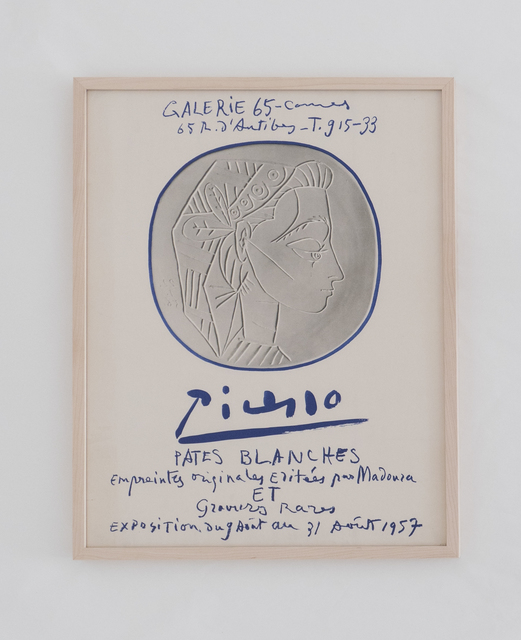 , 'Galerie 65 Cannes: Picasso - Pates Blanches ,' 1957, BASTIAN