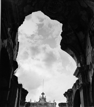 , 'Guatemala Recollection Cathedral, Antigua,' 1952, Staley-Wise Gallery