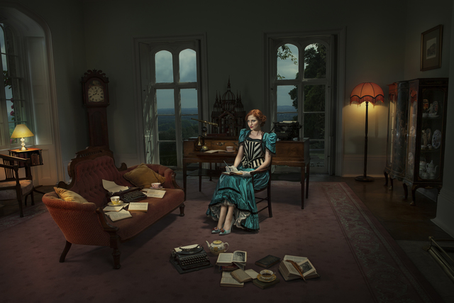 , 'The Author,' 2014, Cynthia Corbett Gallery