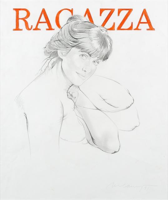, 'Ragazza,' 1991, Galerie Ernst Hilger