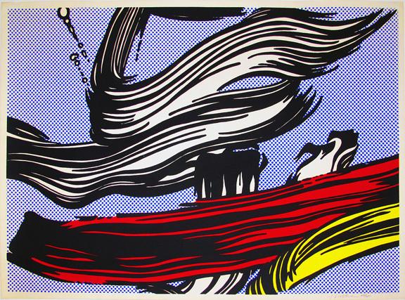 Roy Lichtenstein, 'Brushstrokes', 1967, Hamilton-Selway Fine Art
