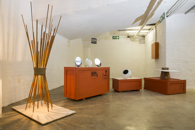 , 'Safri (luminaire), Kanki, BEE (speaker), and Lits (table basse),' 2015-2016, Museum of African Design (MOAD)