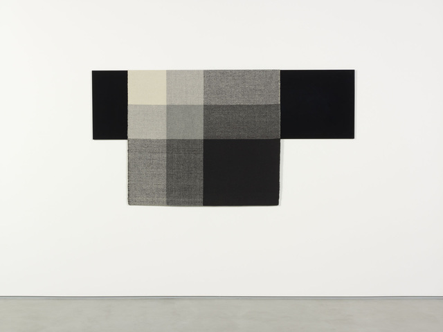 Andrea Zittel, 'Parallel Planar Panel (black, dark grey, light grey, off-white)', 2014, Sadie Coles HQ