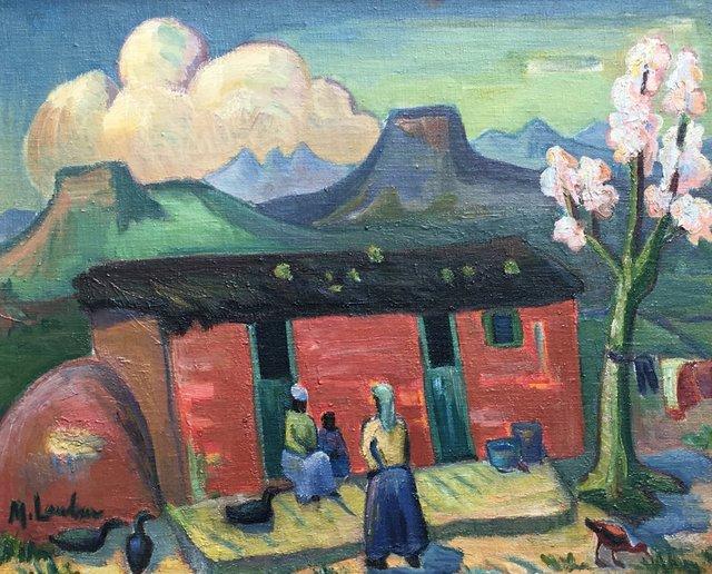, 'Farm landscape ,' , Absolut Art Gallery
