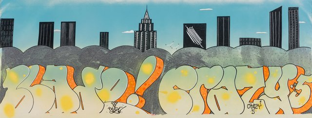 Blade, 'Crazy -5- Takes the City', 2012, Heritage Auctions