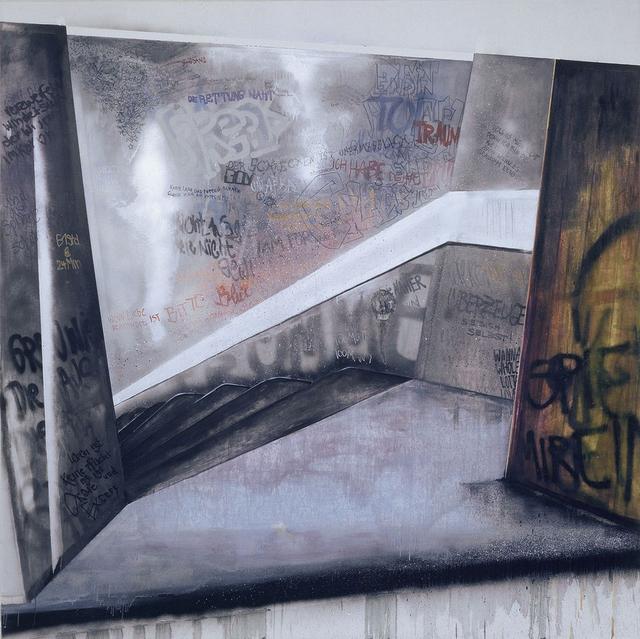 , 'Abgang I,' 2004, Christine König Galerie