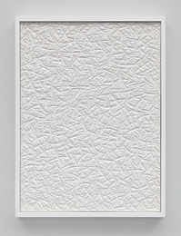 Untitled (Etched Plaster)