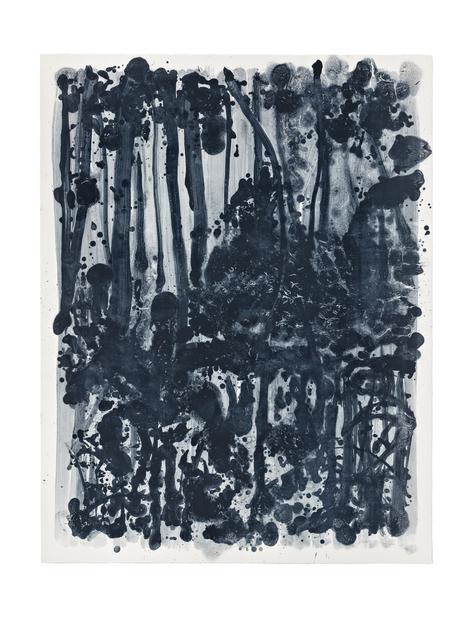 , 'Indigo Forest 10,' 2015, STPI