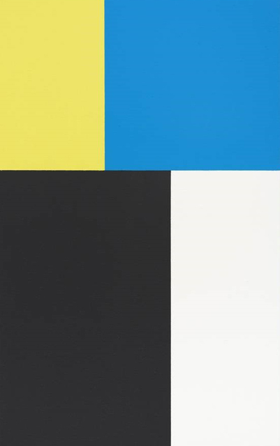 , 'Phi Painting (Blue, Yellow),' 2015, Walter Storms Galerie