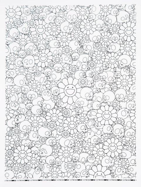 Takashi Murakami, 'Skulls and Flowers (White)', 2018, Heritage Auctions