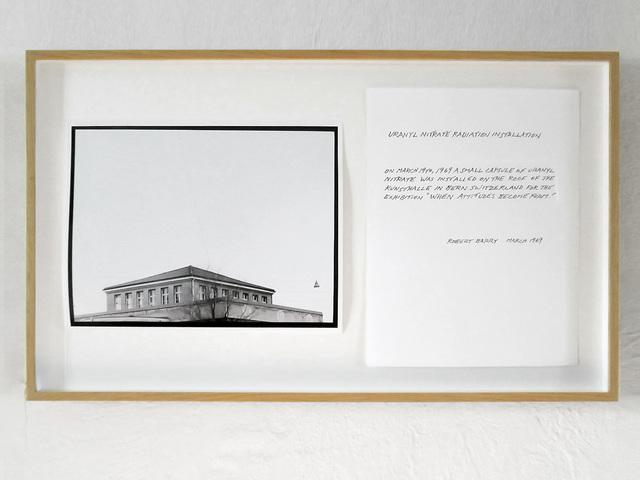 Robert Barry, 'Uranyl Nitrate Radiation Installation ', 1969, Alfonso Artiaco