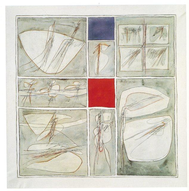 , 'Manoscritto per Carla,' 1962, Galleria Tega