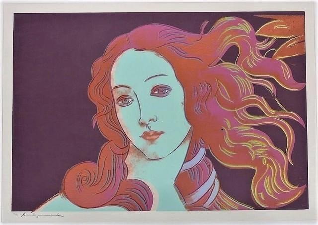 Andy Warhol, 'Birth of Venus, #317', 1984, michael lisi / contemporary art