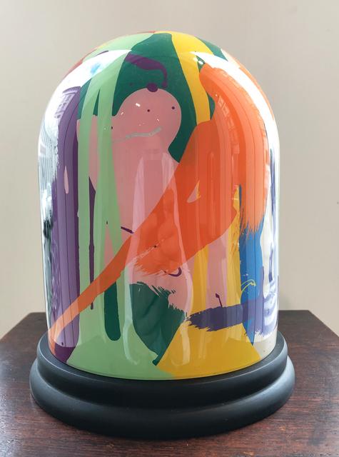 , 'Reverse Glass Painting (Nr.5),' 2019, Mario Mauroner Contemporary Art Salzburg-Vienna