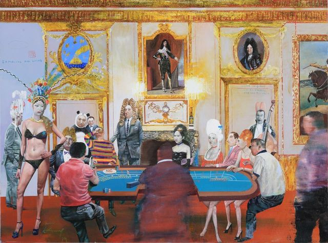 , 'Gambling for Living. Casino Republic,' 2014, 10 Chancery Lane Gallery