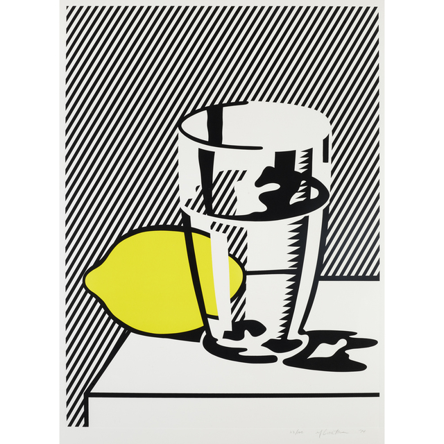 Roy Lichtenstein, 'Untitled (Still Life with Lemon and Glass)  from For Meyer Schapiro', 1974, Freeman's